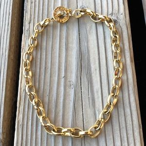 Givenchy Vintage Gold Plated Chunky Necklace!